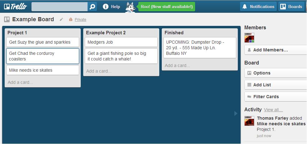Review Trello Easy Project Management Online App