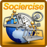 Sociercise Real Time Running Races on iPhone