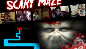 Scary maze logo