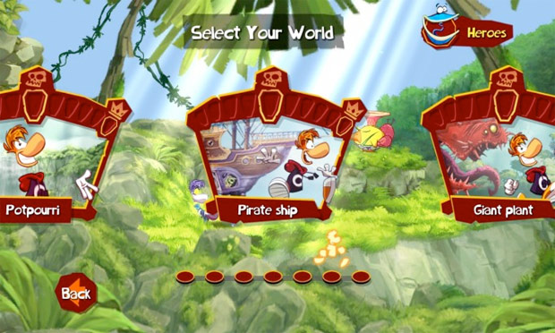 rayman-level-select