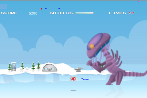 2Game Attack of the Kraken Version 1.0 iPod Touch iPhone iPad